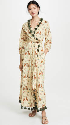 Rhode Resort Lena Wrap Dress