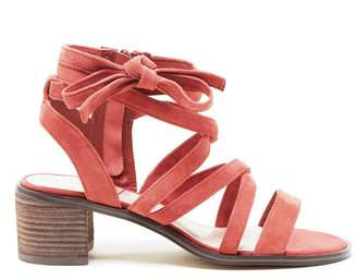 Pasha Strappy Sandal $89.95 thestylecure.com