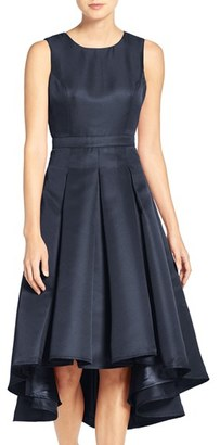 Women's Lulus Cutout Back Tea Length High/low Dress $82 thestylecure.com