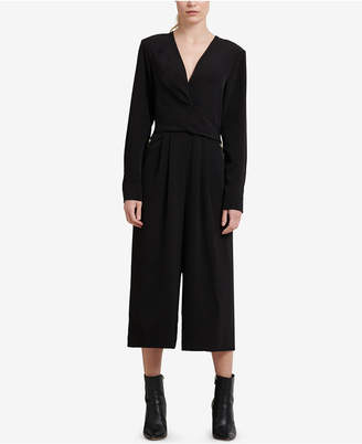 DKNY Long-Sleeve Jumpsuit