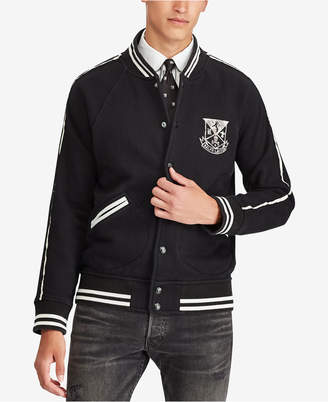 Polo Ralph Lauren Men's Big & Tall Collegiate Crest Fleece Jacket