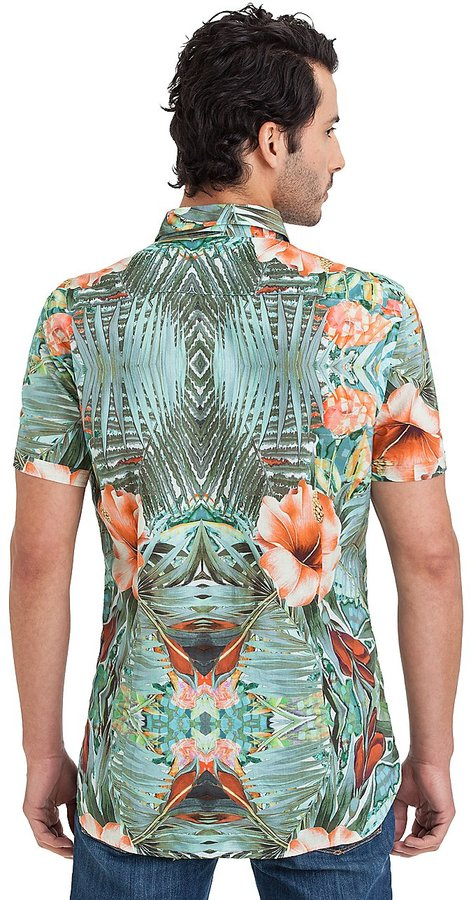 GUESS by Marciano Tropical Short-Sleeve Shirt