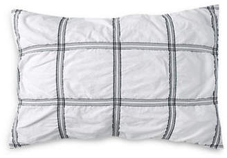 DKNY Check Please Cotton Sham