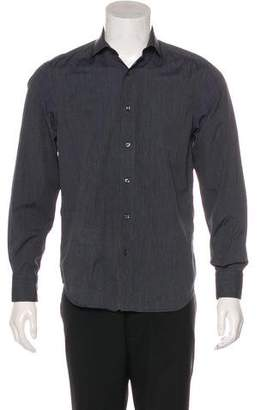 Luciano Barbera Woven Button-Up Shirt