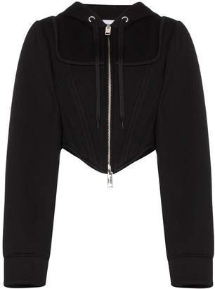 Burberry Grace corset-style hoodie
