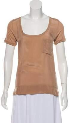 Comptoir des Cotonniers Scoop Neck T-Shirt