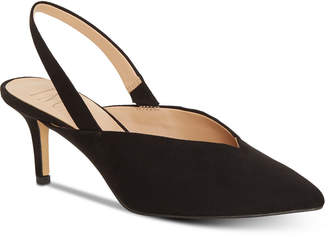 INC International Concepts Inc Women Velda Slingback Choked-Up Pumps, Women Shoes
