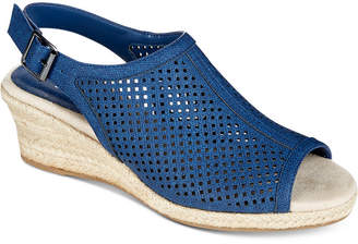 Easy Street Shoes Stacy Wedge Sandals