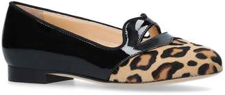 Charlotte Olympia Patent Incy Bisoux Flats