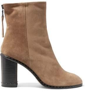 Rag & Bone Blyth Studded Suede Ankle Boots