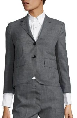 Thom Browne Classic Wool Jacket $2,200 thestylecure.com