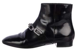 Michael Kors Chain-Link Ankle Boots