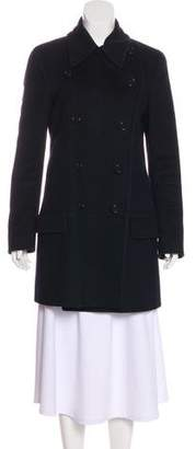 Helmut Lang Wool Knee-Length Coat