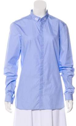 The Kooples Long Sleeve Button-Up Top