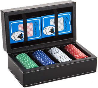Aurosi Leather Poker Set (80 Chips)