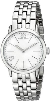 88 Rue du Rhone Women's 87WA140021 Analog Display Swiss Quartz Silver Watch