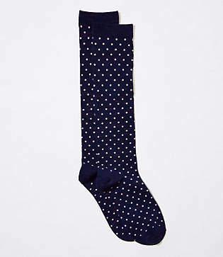 LOFT Dot Boot Socks