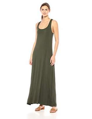Amazon Brand - Daily Ritual Women's Jersey Sleeveless Racerback Maxi Dress