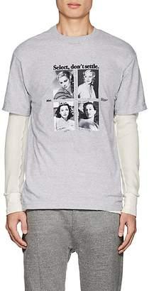 "Advisory Board Crystals Men's ""Don't Settle"" Cotton T-Shirt"