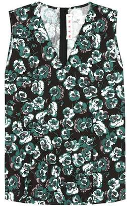 Marni Sleeveless cotton top