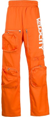 Calvin Klein Jeans Est. 1978 oversized-pocket track pants