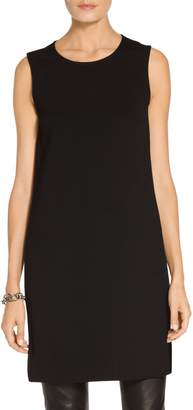 St. John Milano Knit Jewel Neck Tunic