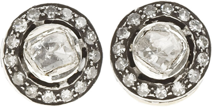 Munnu Diamond Mini Stud Earrings