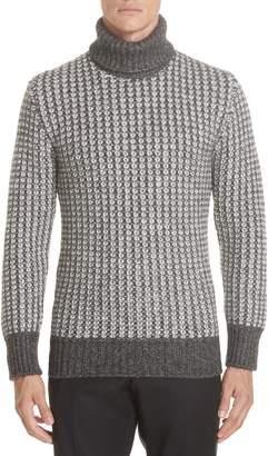Ermenegildo Zegna Cotton Blend Turtleneck Sweater