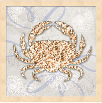 Tiffany & Co. Metaverse Sea Side Gypsy - Crab By Lightboxjournal Framed Art