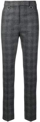 Max Mara checked skinny trousers