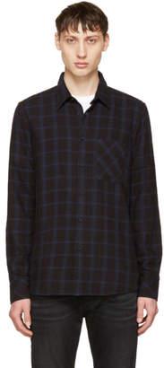 Nudie Jeans Indigo Sten Window Check Shirt