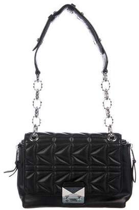 Karl Lagerfeld by Quilted Leather Shoulder Bag