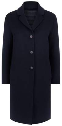Max Mara Down Lined Wool Coat