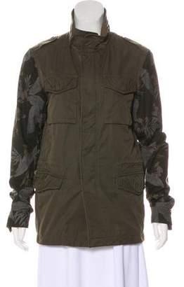 AllSaints Printed Casual Jacket