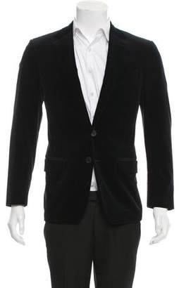 Louis Vuitton Velvet Two-Button Blazer