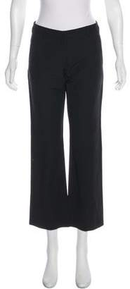 Dries Van Noten Mid-Rise Linen-Blend Pants