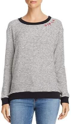 Vintage Havana NY LA Striped Sweater
