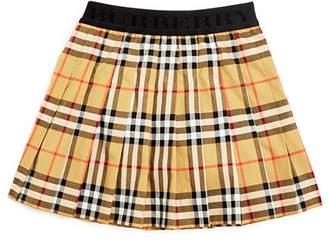 Burberry Girls' Vintage Check Pleated Skirt - Little Kid, Big Kid