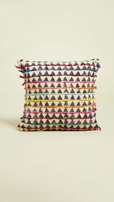 Karma Living Gift Boutique Block Printed Pillow