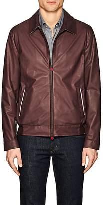 Kiton Men's Nappa Leather Bomber Jacket