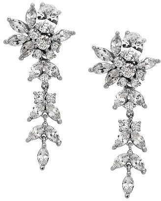 Women's Nina Linear Earrings $55 thestylecure.com