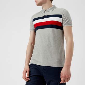 Tommy Hilfiger Men's Striped Polo Shirt