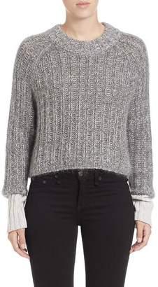 Rag & Bone Makenna Crop Sweater