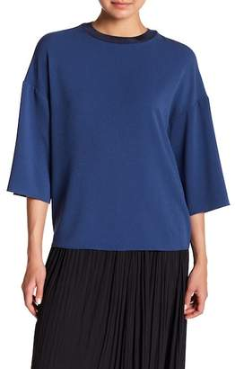 Tibi Savanna Dolman Sleeve Blouse