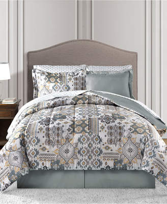 Waverly Fairfield Square Collection Reversible 6-Pc. Twin Comforter Set