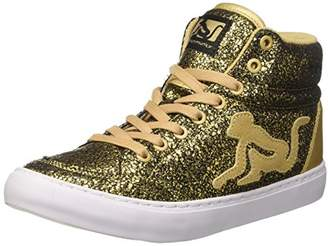Drunknmunky Women's Boston Galaxia Tennis Shoes, (Gold 306)