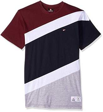 Southpole Men's Colorblock Short Sleeve Fashion Tee