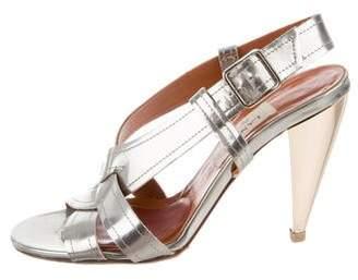 Lanvin Leather Ankle Strap Sandal