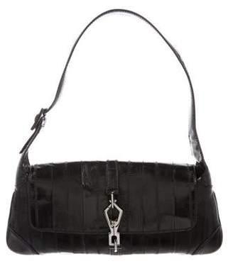 Gucci Eel Jackie Flap Bag