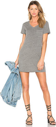 Michael Stars Jersey Pocket Dress in Gray $78 thestylecure.com